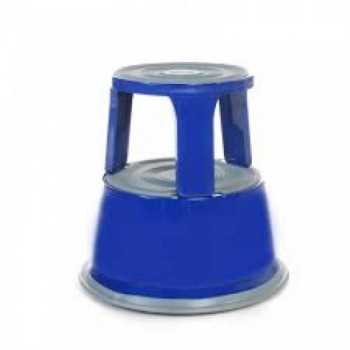 Kick Step Stool WB1123BL - (Blue) 435H x 290 Top x 435 Base