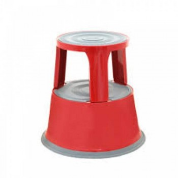 Kick Step Stool WB1123R - (Red) 435H x 290 Top x 435 Base