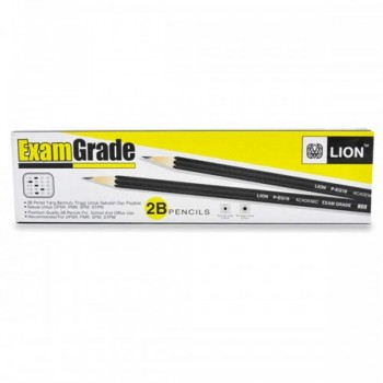 2B Exam Grade Pencils 12pcs P-EG18