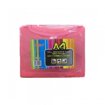 Niso A4 Plastic Document Case 55mm (No. 8150)
