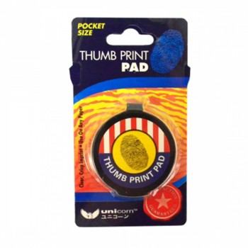 Thumb Print Ink Pad - Black (Item No: A11-01 F-PADBK) A1R3B45