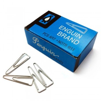 Penguin Brand Triangle Clip 031 - 31mm, 100pcs (Item No: B03-24) A1R1B84