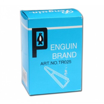 Penguin Triangle Paper Clip 25mm (10 small boxes)