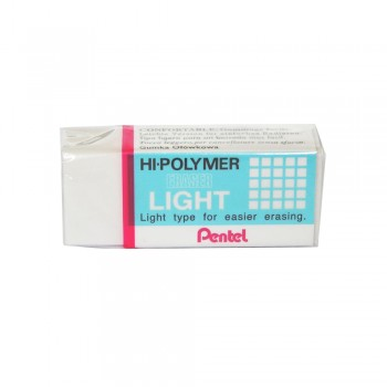 Pentel ZEL05 Hi-Polymer Pencil Light Eraser - S