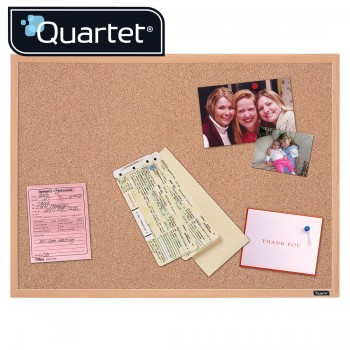 Quartet Oak Cork Frame Boards 35-380342Q