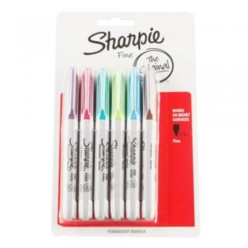 SHARPIE F ASST CLRS 6'S -SA1740640A (Item No: A12-05)