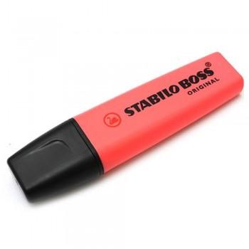 STABILO Boss Original Highlighter Pen - 70/40 RED (Item No: A14-01 SSBOSSRD) A1R3B59