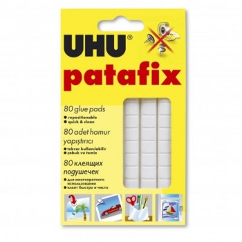 UHU Patafix Glue pads - White (Item No: B04-27) A1R2B123