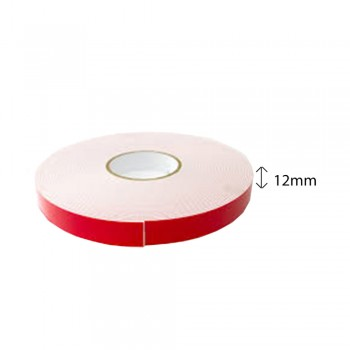 Double Sided PE Foam Tape (White) - 12mm X 8m