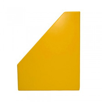 """3"""" PVC Magazine Box File - Yellow"""