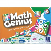 Math Genius - Match, Score and Win!