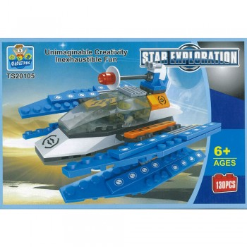 Star Exploration Building Blocks TS20105 130PCS