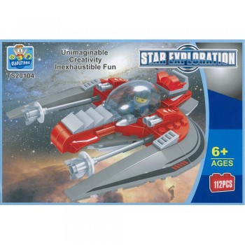 Star Exploration Building Blocks TS20104 112PCS