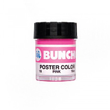 Buncho PC15CC Poster Color 16 Pink - 6/Box