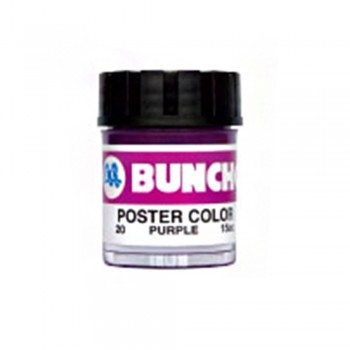 Buncho PC15CC Poster Color 20 Purple - 6/Box