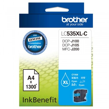 Brother LC-535XL Cyan Ink Cartridge