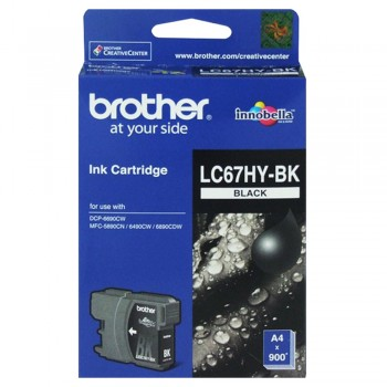 Brother LC-67HYBK Ink Cartridge High Yield - Black