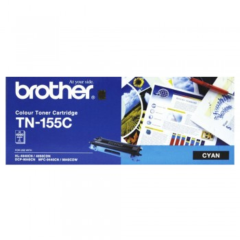Brother TN-155 High Cap Toner Cartridge - Cyan