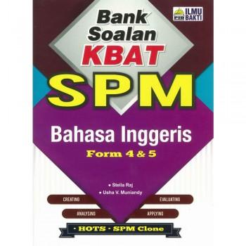 Bank Soalan KBAT SPM Bahasa Inggeris Form 4 & 5