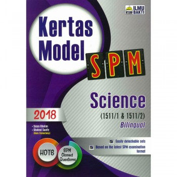 Kertas Model SPM Science Bilingual 2018