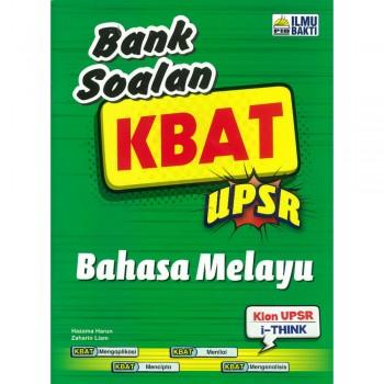 Bank Soalan KBAT UPSR Bahasa Melayu 2018