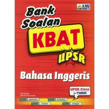 Bank Soalan KBAT UPSR Bahasa Inggeris 2018