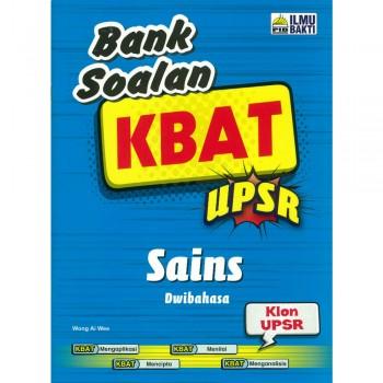 Bank Soalan KBAT UPSR Sains Dwibahasa 2018