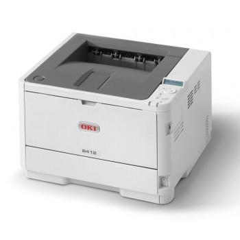 OKI B412dn Mono Printer B400 Series Duplex, Network LED Printer - 45762003