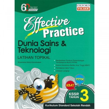 Effective Practice Dunia Sains dan Teknologi Latihan Topikal KSSR Semakan Tahun 3
