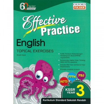 Effective Practice English Topikal Exercises KSSR Year 3
