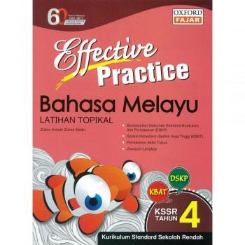 Effective Practice Bahasa Melayu Latihan Topikal KSSR Semakan Tahun 4