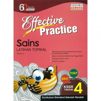 Effective Practice Sains Latihan Topikal KSSR Semakan Tahun 4