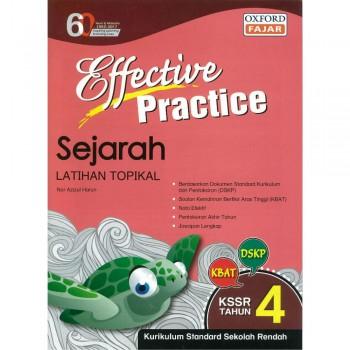 Effective Practice Sejarah Latihan Topikal KSSR Semakan Tahun 4