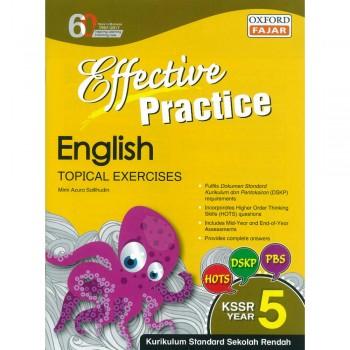 Effective Practice English Topikal Exercises KSSR Year 5