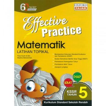 Effective Practice Matematik Latihan Topikal KSSR Semakan Tahun 5