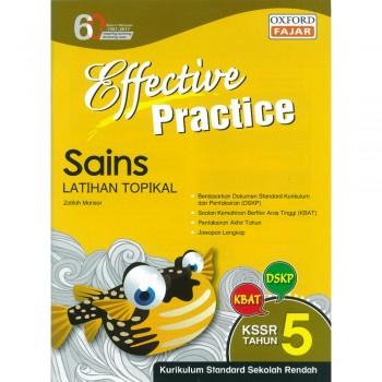 Effective Practice Sains Latihan Topikal KSSR Semakan Tahun 5
