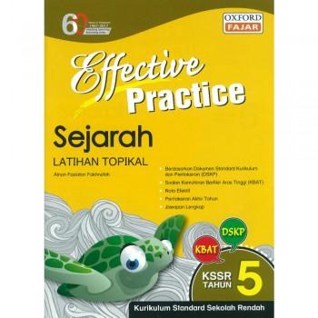 Effective Practice Sejarah Latihan Topikal KSSR Semakan Tahun 5
