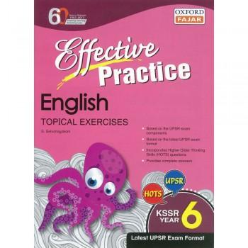 Effective Practice English Topikal Exercises KSSR Year 6