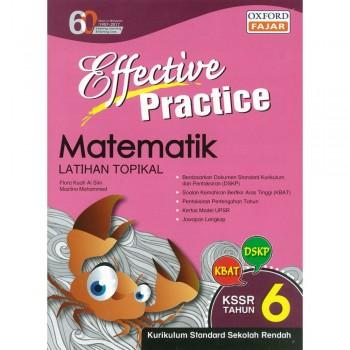 Effective Practice Matematik Latihan Topikal KSSR Semakan Tahun 6