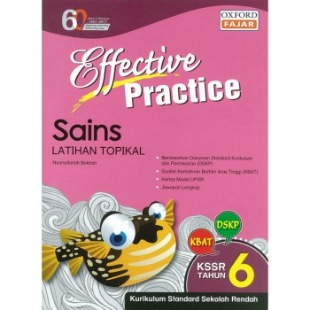 Effective Practice Sains Latihan Topikal KSSR Semakan Tahun 6