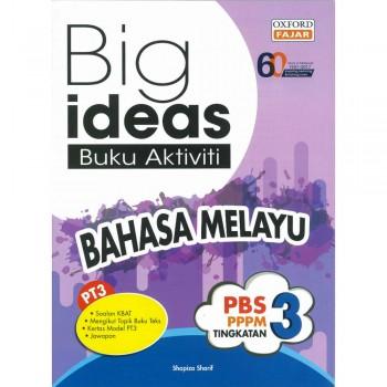 Big ideas Buku Aktiviti Bahasa Melayu Tingkatan 3