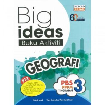 Big ideas Buku Aktiviti Geografi Tingkatan 3