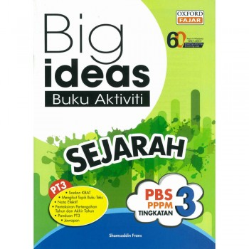 Big ideas Buku Aktiviti Sejarah Tingkatan 3