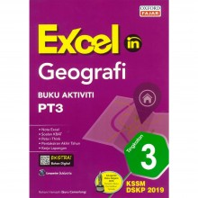 Excel in Geografi Buku Aktiviti SPM Tingkatan 3 KBSM