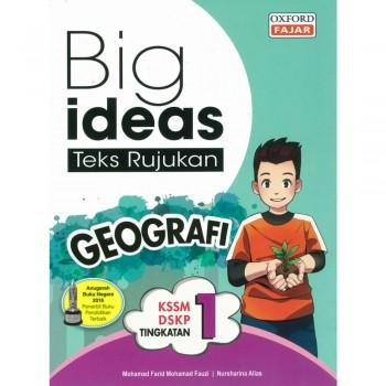 Big ideas Teks Rujukan Geografi Tingkatan 1 KSSM DSKP