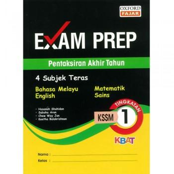 Exam Prep Pentaksiran Akhir Tahun Tingkatan 1 KSSM