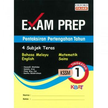 Exam Prep Pentaksiran Pertengahan Tahun Tingkatan 1 KSSM