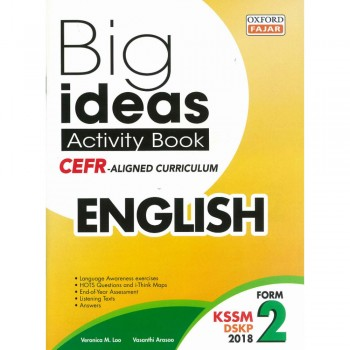 Big ideas Activity Book English Form 2
