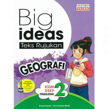 Big ideas Teks Rujukan Geografi Tingkatan 2 KSSM DSKP