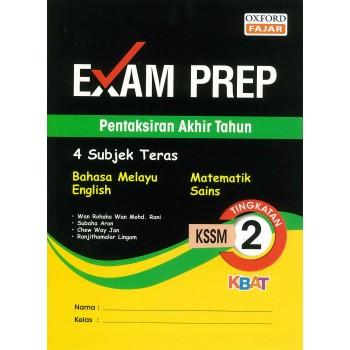 Exam Prep Pentaksiran Akhir Tahun Tingkatan 2 KSSM